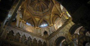 Techo mezquita de cordoba