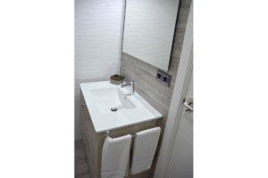 lavabo apartamentos El Lago en Córdoba