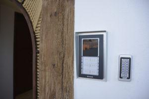 teclado numerico de acceso
