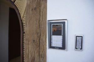 Teclado numérico apartamento El Lago en Córdoba
